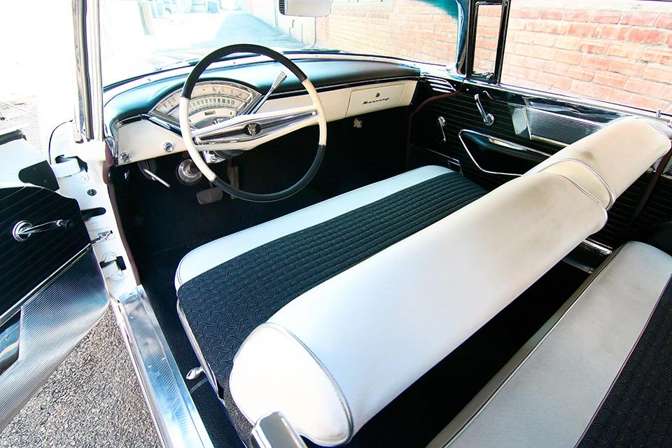 1956 Mercury Montclair interior